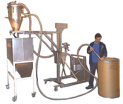 Mobile Vacuum Conveyor